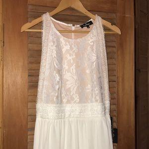 Lulees wedding dress!